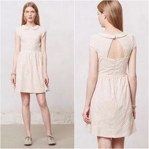 Anthropologie Dear Creatures Sadie Dress Peter Pan